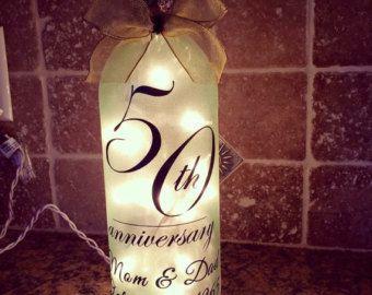 Wine Bottle Light Night Light Hand Painted Wine by GlassGaloreGal
