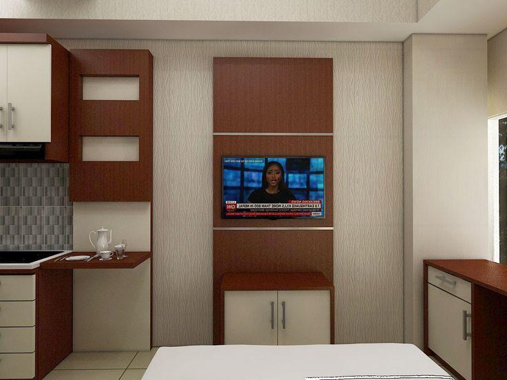 credenza TV 3d studio