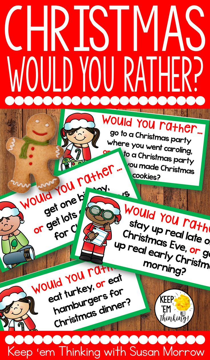 FREEBIE ALERT! Want to get your students turned on to writing? Kids love to talk about themselves and these FREE Christmas theme Would You Rather? writing prompts are just the thing to get your kiddos into opinion writing.  The graphic organizers included help students organize their thoughts in the pre-writing process! These would make a great writing center, or morning writing prompts for students in second grade, third grade, and fourth grade.