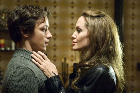 James McAvoy with Angelina Jolie image