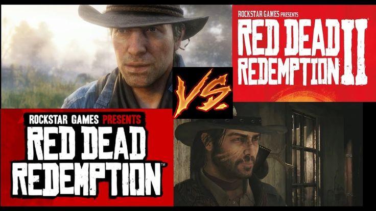 Red Dead Redemption 2 vs Red Dead Redemption Graphics Comparison
