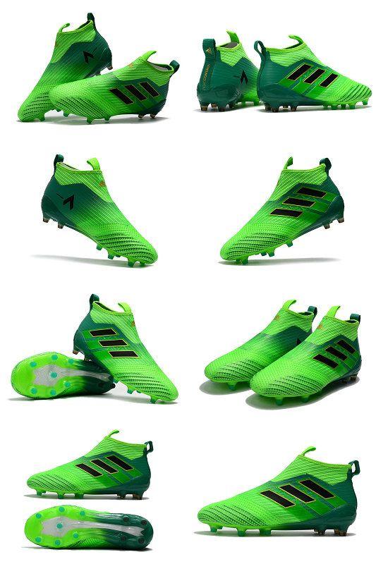 finest selection 59549 f3f64 adidas ACE 17+ Purecontrol Tacos FG Hombre Bota - Verde Negro
