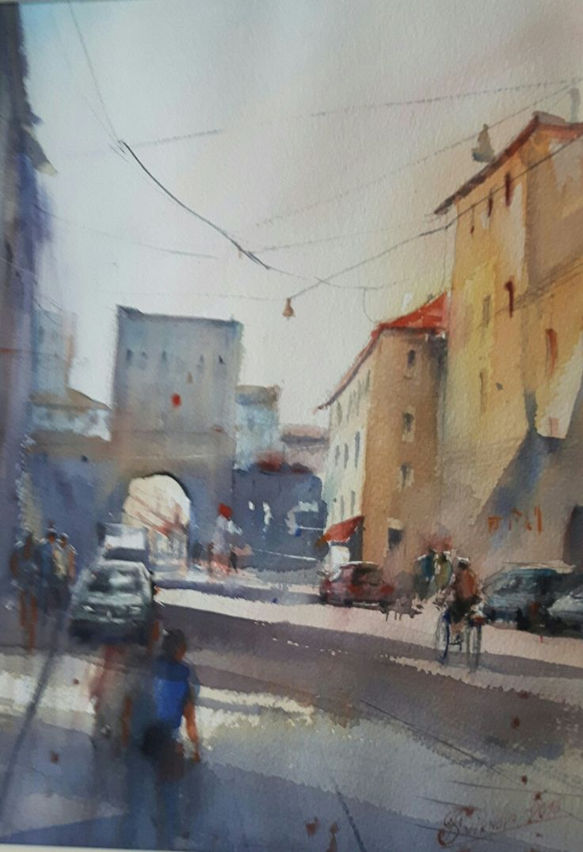 "Tatiana Smirnova ""Passeggiata in centro"""