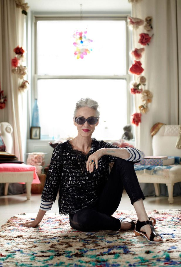 Linda Rodin - New York fashion stylist and founder of beauty range Olio Lusso ''I'm very fussy about what products I use and I love mixing things together. I'll buy a perfume and mix it with another. I'll combine two different nail polish colours to create the perfect hue and I'll buy a handbag and change the handle. I like to do everything custom.'' To read full interview go to www.anaffairwithitaly.com