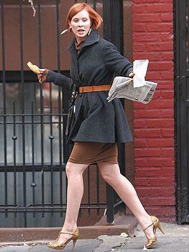 "Cynthia Nixon (as Miranda Hobbes) in ""Sex and the City"" (TV Series)"
