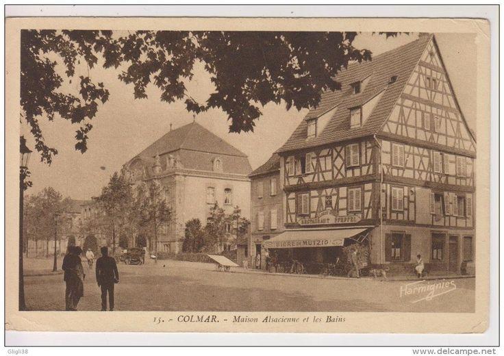Colmar - place de la sinn (vintage photo)