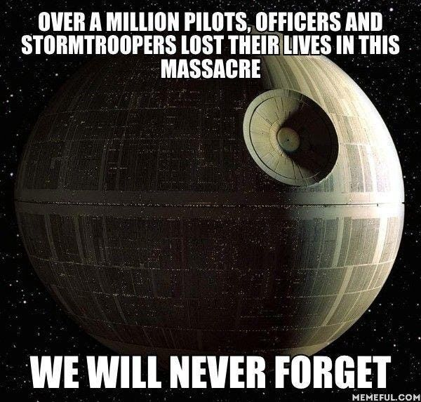 Star Wars Memes That Make It Perfectly Clear The Empire Did Nothing Wrong Star Wars Memes Classic Star Wars Star Wars