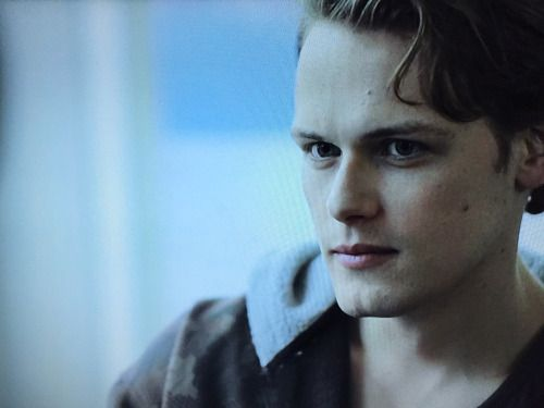 Sam Heughan in Emulsion What a range of emotion on his face in just one scene