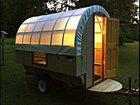 The Tardis Bowtop Camper Sheep Camp Tiny House Caravan