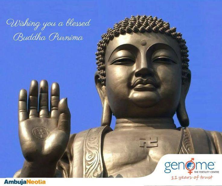 On Buddha Purnima may you be blessed with happiness and prosperity.   #buddhapurnima #vesak #fertilitycentre #lifeatgenome