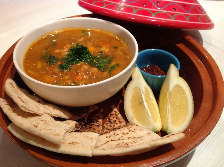 Moroccan Harira Soup, perfect for Ramadan Iftar