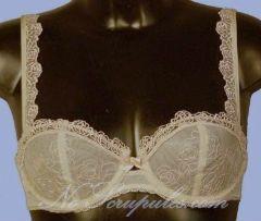 SG 85B Chantelle Déclaration - Couleur beige/nude   - Sg corbeille à armature - Effet pulp  - Tulle dentelle  - Signature de la marque http://www.noscrupules.com/chantelle.php