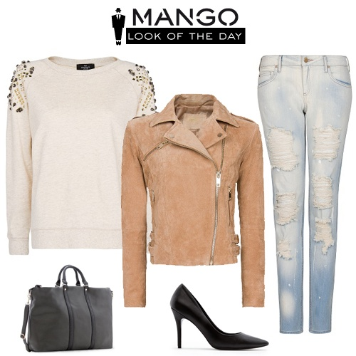 Don't like the shoes, but love the rest! #Mango #Trends #Look