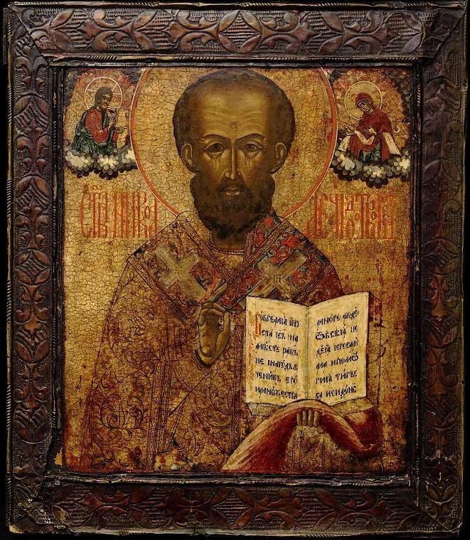 nikolay_mirlikiyskiy-20.jpg (661×759)  Святой Николай Чудотворец. Икона, XVIII век