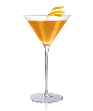 Salted Tootsie Roll    Ingredients:  2 ounces Stoli Salted Karamel  1 ounce Dark Crème De Cacao  Splash of orange juice    Directions:  1. Shake ingredients over ice and serve as a shot or martini.