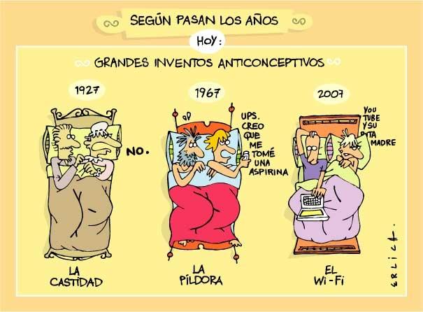 La castidad, la píldora y el wi-fi