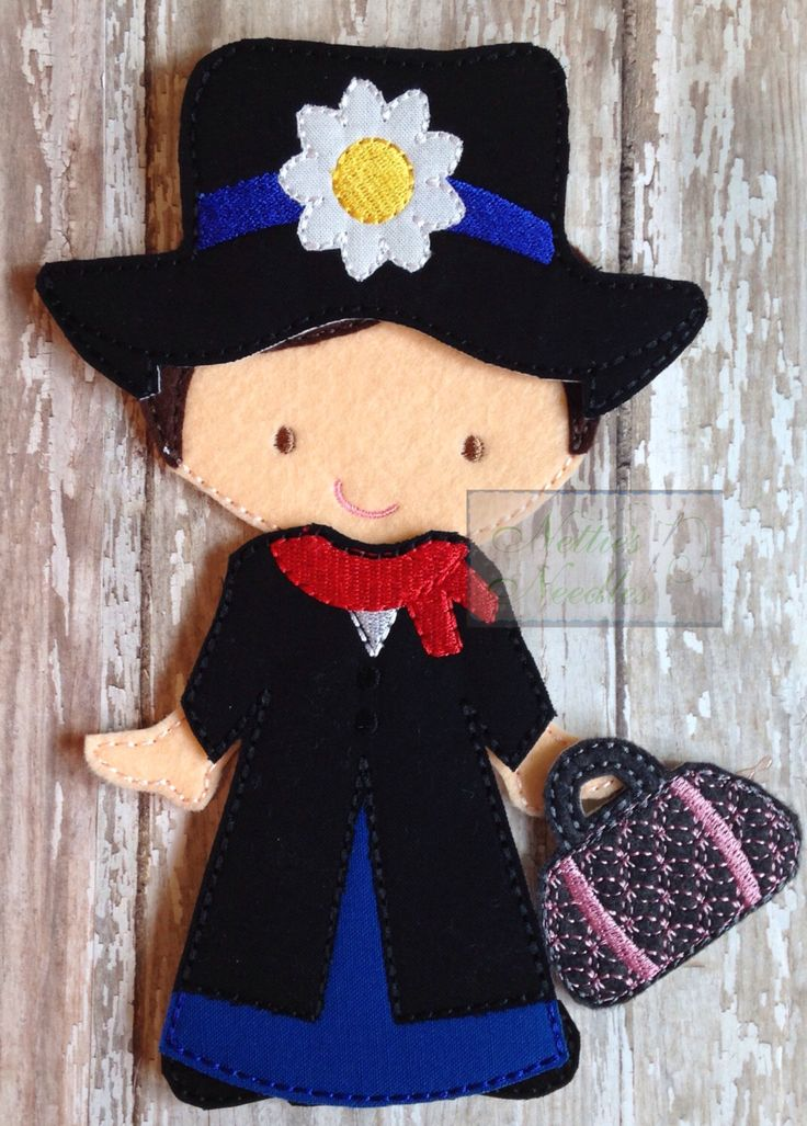 It's A Jolly Holiday With You Bert: Mary Poppins Felt Doll Dress Up Outfit by NettiesNeedlesToo on Etsy https://www.etsy.com/listing/223612742/its-a-jolly-holiday-with-you-bert-mary