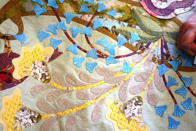 Esther's Quilt Blog: Secret Garden: Colouring In Block 2
