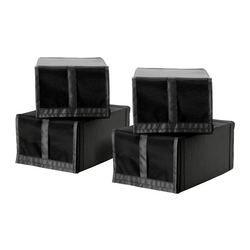SKUBB, Boîte à chaussures, noir