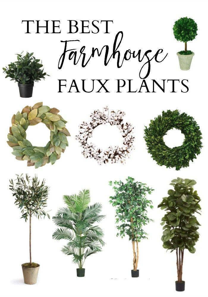 The best faux plants for your farmhouse