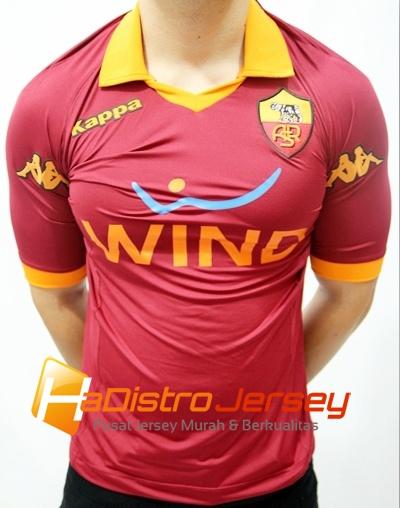 Toko Jersey Bola HADISTROJERSEY menjual READY STOK Jersey Grade Ori AS Roma Home 2012/2013 $15 http://goo.gl/IWbsG