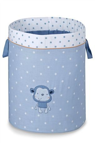 Buy Cheeky Monkey Fabric Tubs - Set Of 2 from the Next UK online shop