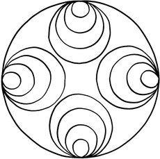 Mandalas zum Ausdrucken und Ausmalen 32 für Kinder