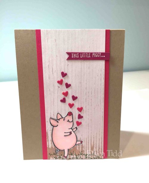 This Little Piggy Loves You Valentine card