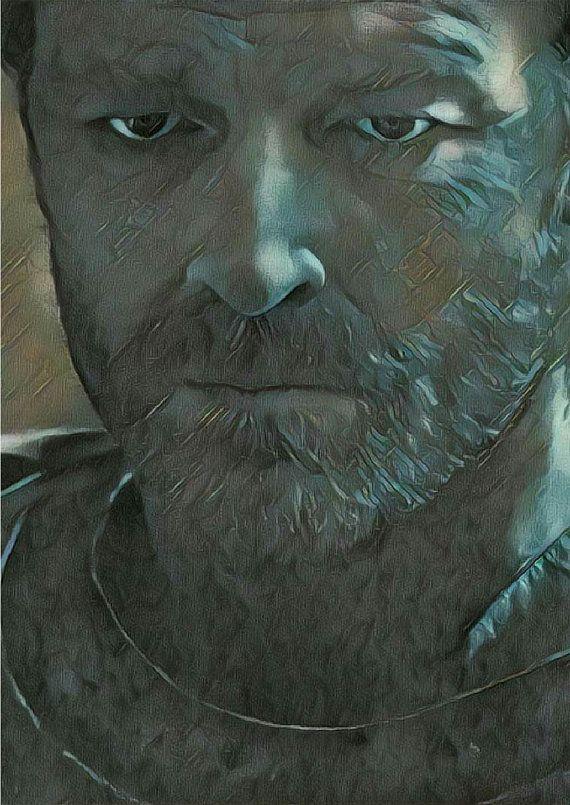 Game Of Thrones Poster Jorah Mormont Serie von PrintItOutShop