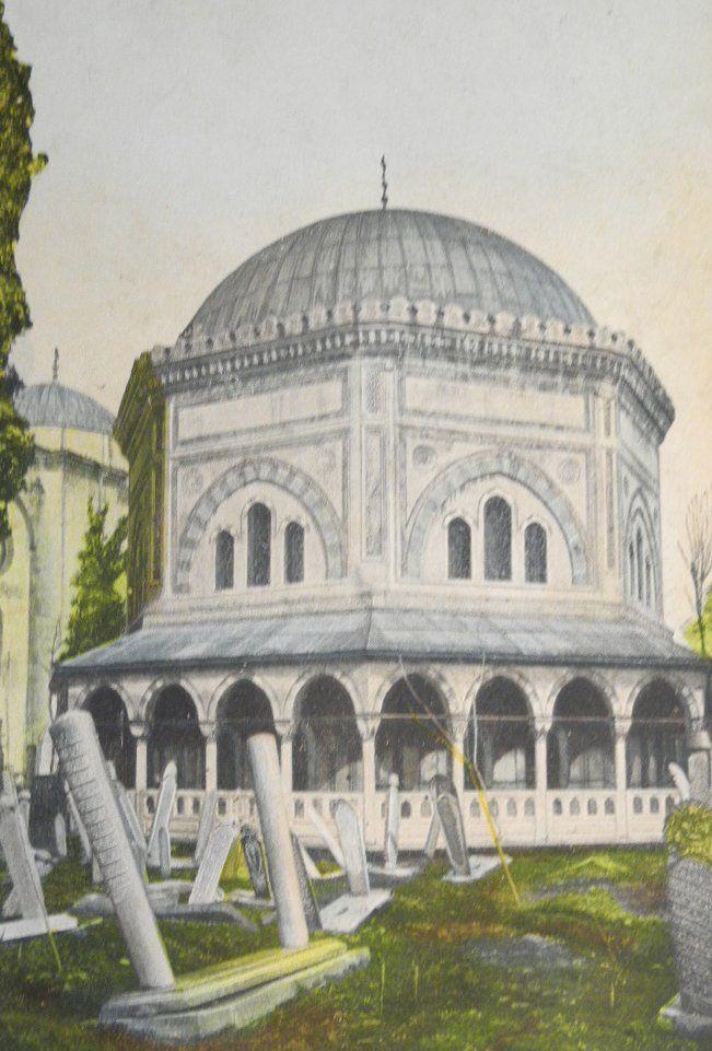 Tomb of Sultan Suleiman and His Wife Hürrem Sultan (Roxelana), Istanbul, 1900s (Sultan Süleyman Türbesi)