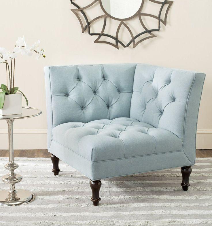 Safavieh Jack Tufted Corner Chair #ChairUpholstery