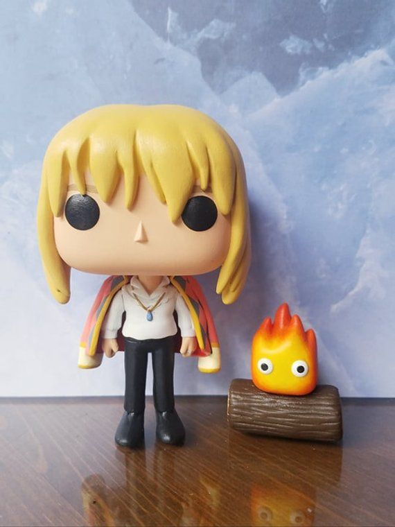 Howl Calcifer Howl S Moving Castle Custom Funko Pop Figures