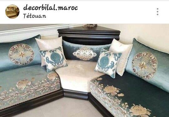 N. Somaya | salons en 2019 | Décoration salon marocain ...