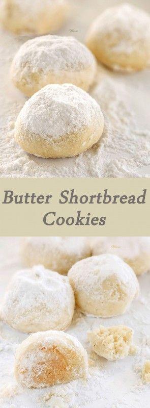 Melt butter cookies - Butter Shortbread Cookies sweet thing going - Vinnie's blog