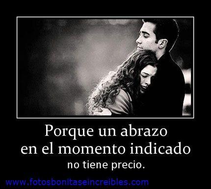 Frases para facebook en Español: un abrazo en el momento ...