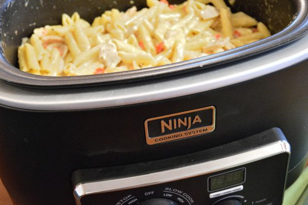 Rattlesnake Pasta in the Ninja Cooking System