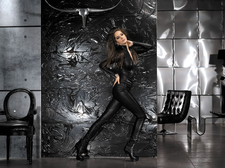 Aphero collection winter 2012  #leather #fashion #exclusive #design #catsuit