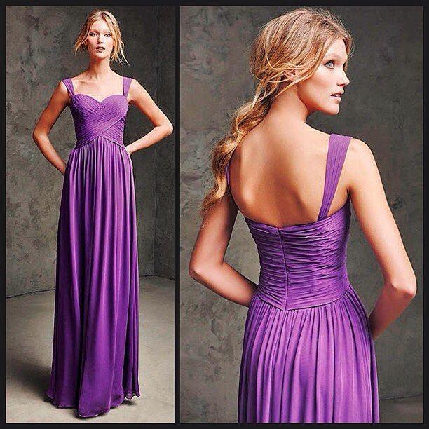 Evening dress purple 050