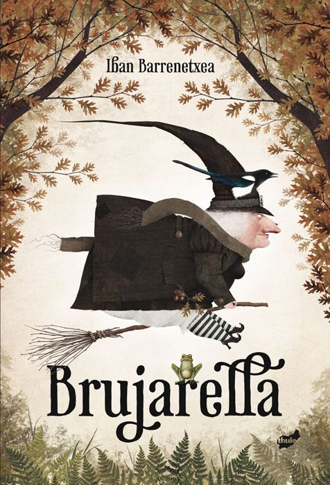 çizgili masallar: Brujarella by Iban Barrenetxea