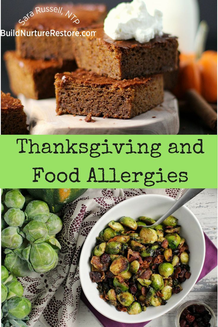 If you have food allergies, you may worry about Thanksgiving dinner. Read this post to ditch the survival-guide mentality and shift into yummy mode!
