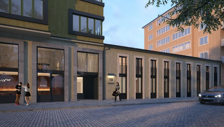 Paraden by Glommen & Lindberg Conversion of an old cinema to 12 apartments in Stockholm.  Architect: Andreas Martin-Löf Design: Monica Förster