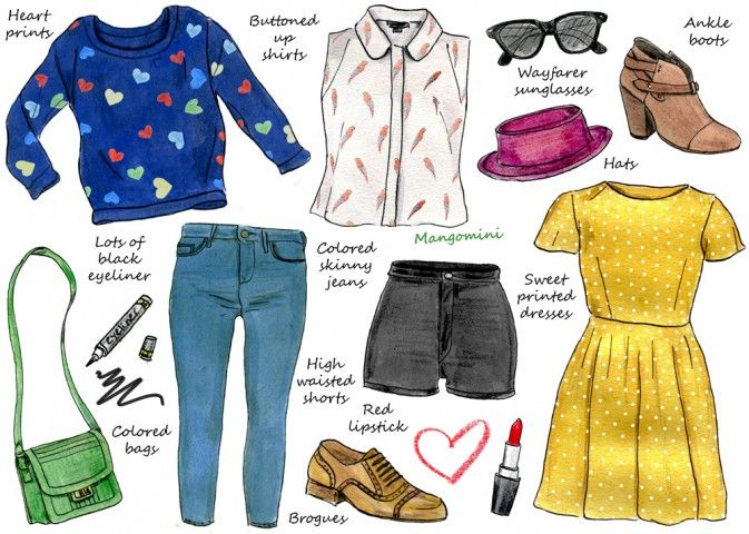 How to Dress Like Taylor Swift by Mangomini (for Hello Giggles)
