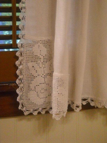 17 mejores ideas sobre cortinas de lámpara de arpillera en ...
