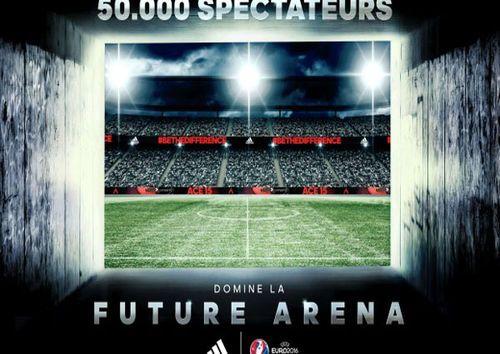 Si la France va accueillir l'Euro 2016 de football, Adidas propose déjà un avant-goût de l'évènement à travers un concept innovant. En effet, pour célébrer l'UEFA EURO 2016, la marque aux trois bandes a collaboré avec Zidane pour lancer le premier stade