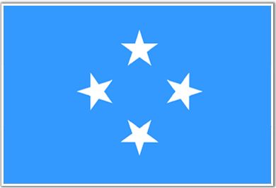 Micronesia Flag - Download Picture of Blank Micronesia Flag For Kids to Color