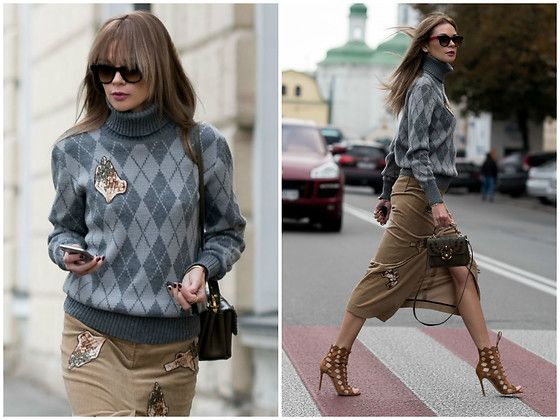 Get this look: http://lb.nu/look/8544761  More looks by Anastasiia Masiutkina: http://lb.nu/anastasiiamas  Items in this look:  Flow The Label Sweater, Flow The Label Skirt, Paula Cademartori Bag, Gianvito Rossi Shoes   #casual #street #streetstyle #anastasiiamasiutkina #eatdresstravel #fashioninfluencer #fashion #streetstylevgenio #flowthelabel