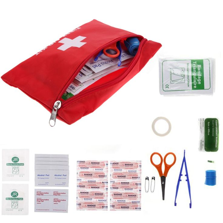 Professional Emergency Outdoor Survival First Aid Kits Treatment Pack Traval Medical Bag Rescue Tool bandages Tweezers Scissors