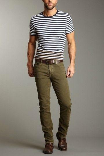 green  olive pants  habillement homme vêtements homme