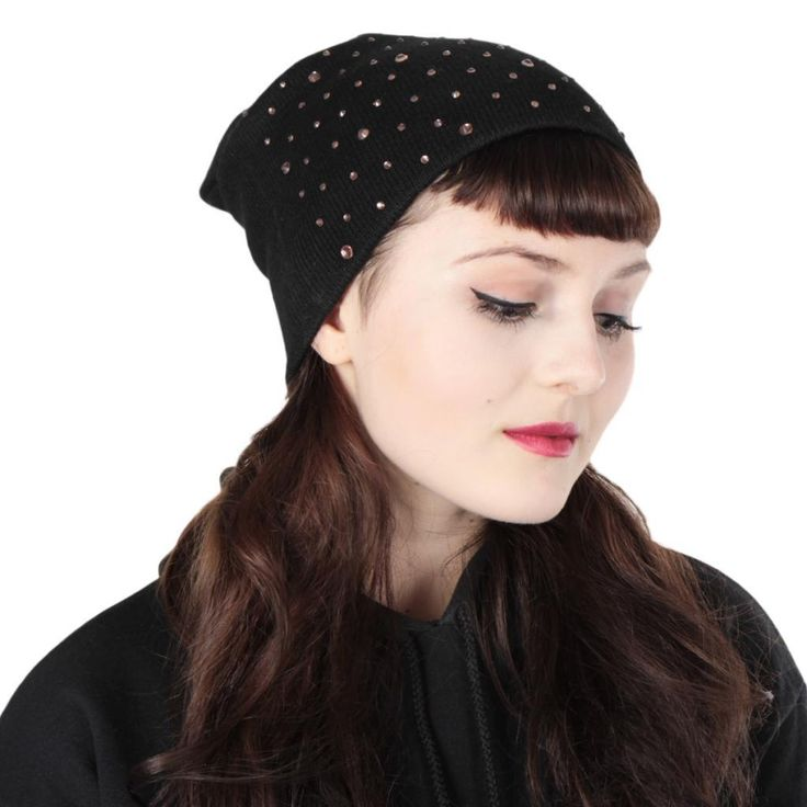 Get some bling! Lovely diamond beanie for every shiny loving girl!