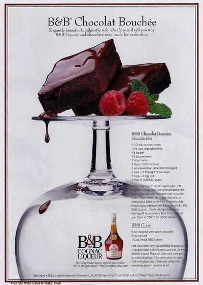 1997 Recipe: B Chocolat Bouchee